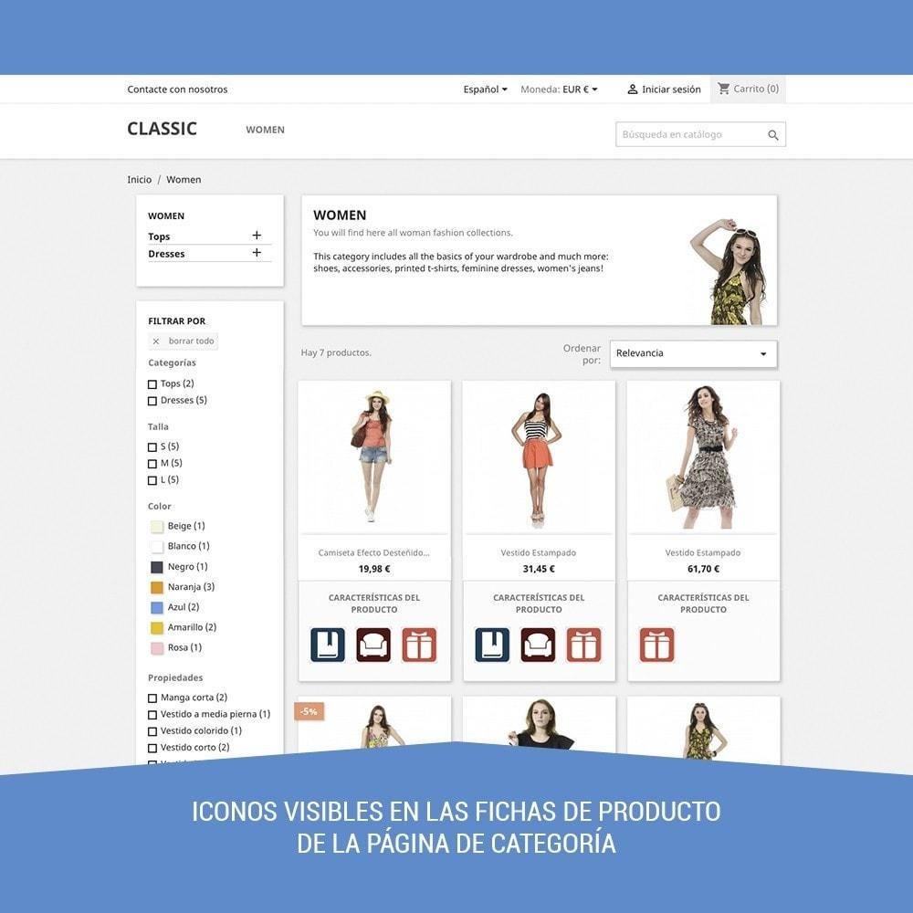 module - Etiquetas y Logos - Icon tags para Productos - 2