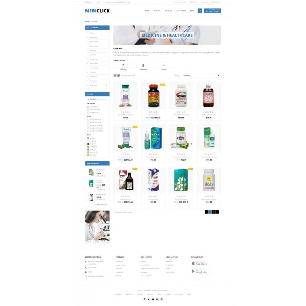 theme - Zdrowie & Uroda - MediClick - Drugs Store - 3