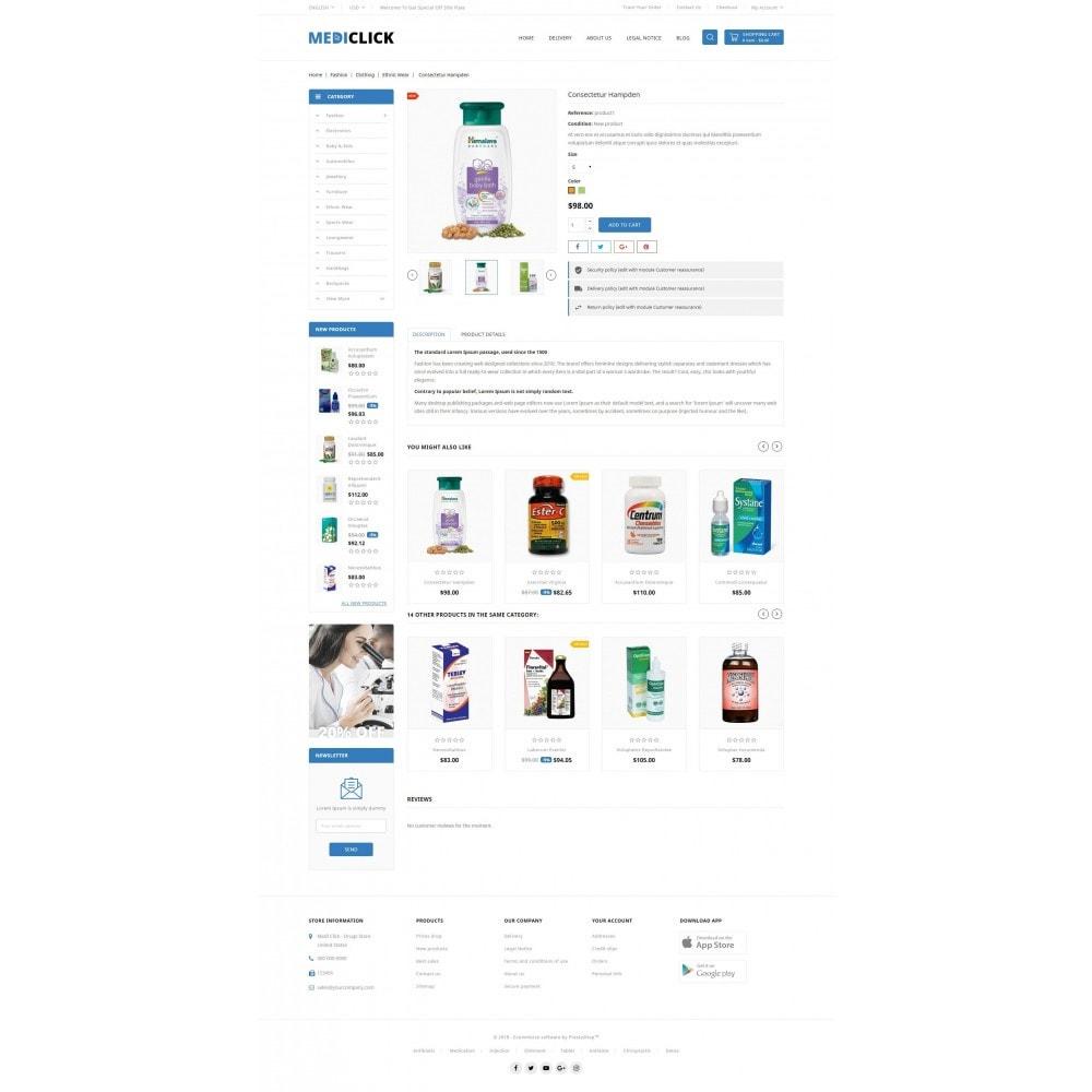 theme - Salute & Bellezza - MediClick - Drugs Store - 5