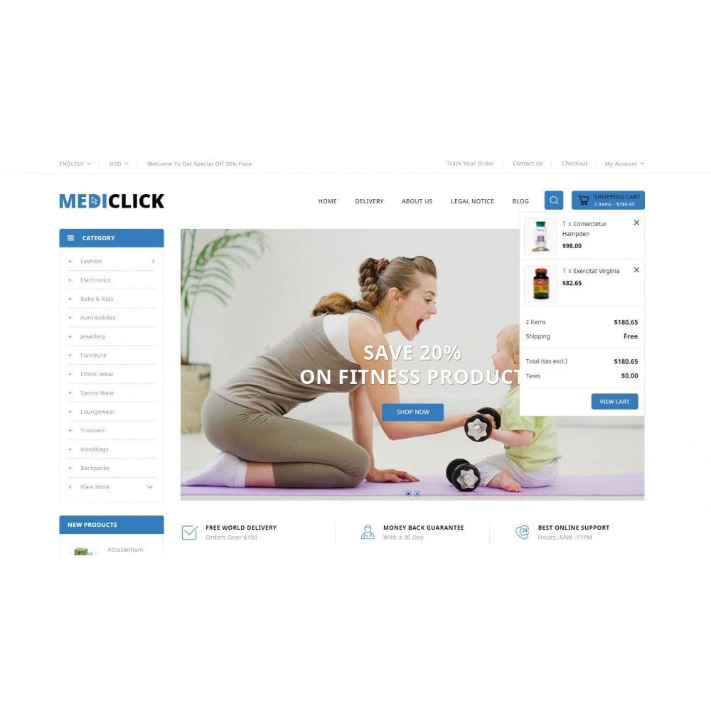theme - Salute & Bellezza - MediClick - Drugs Store - 8