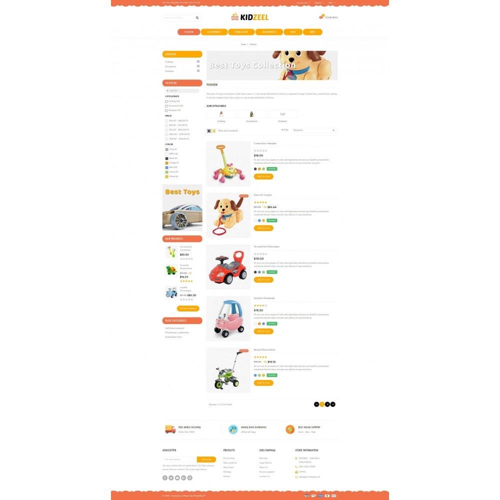 theme - Niños y Juguetes - KidZeel - Toys Store - 4