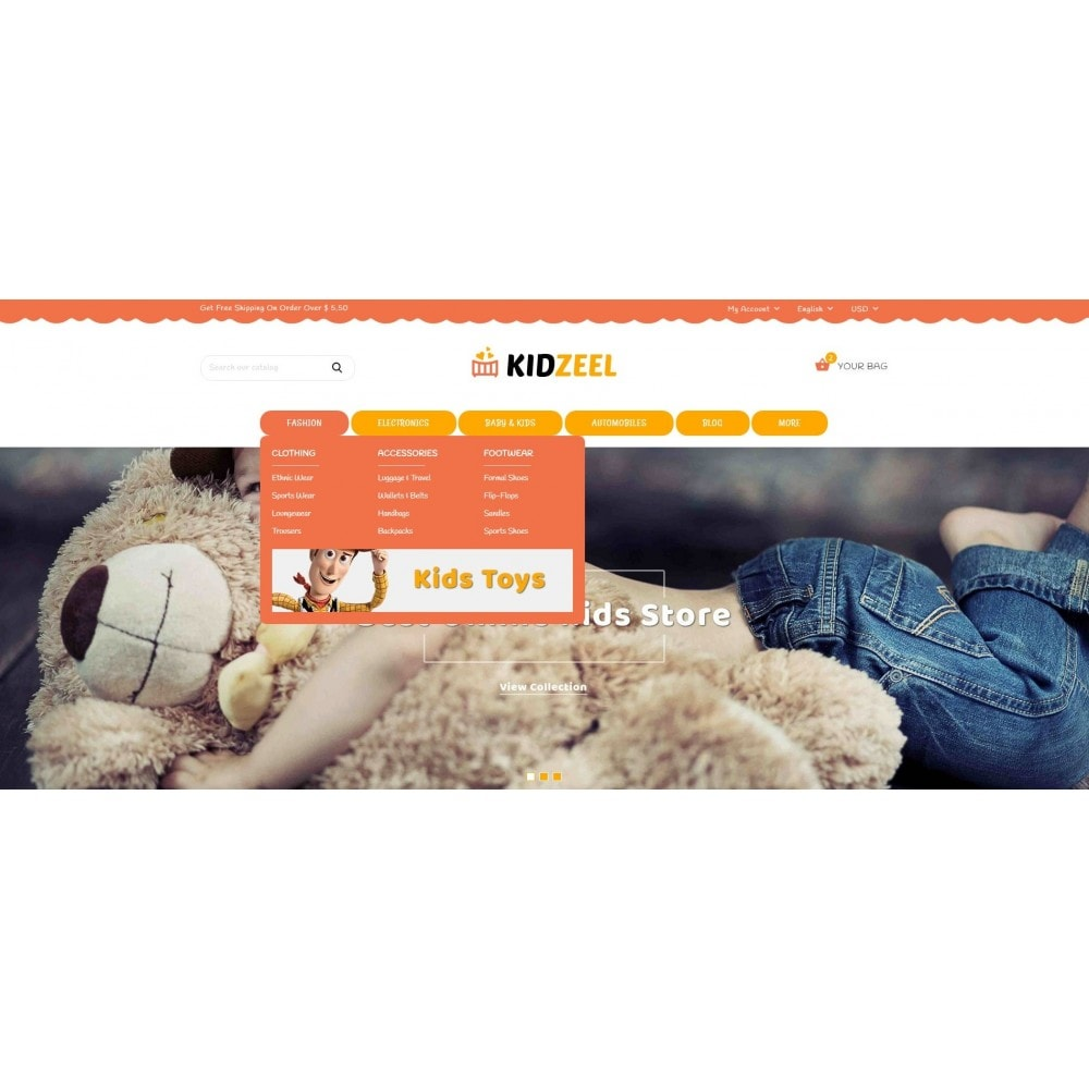 theme - Niños y Juguetes - KidZeel - Toys Store - 6