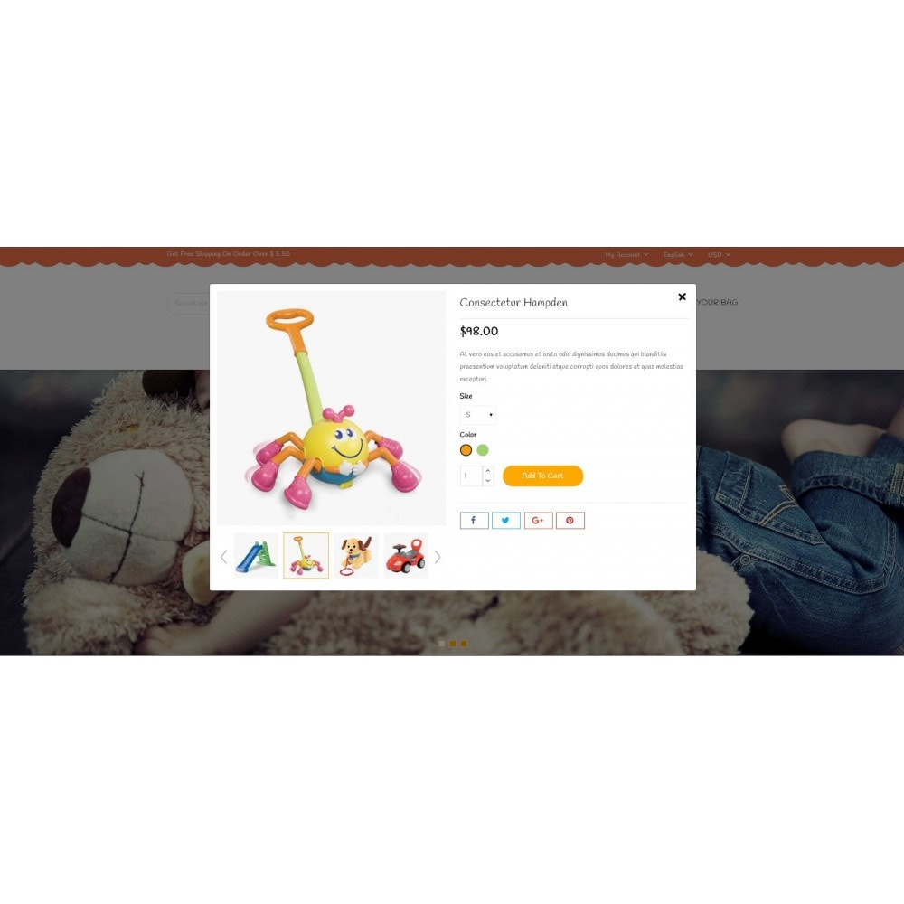 theme - Kinder & Spielzeug - KidZeel - Toys Store - 7