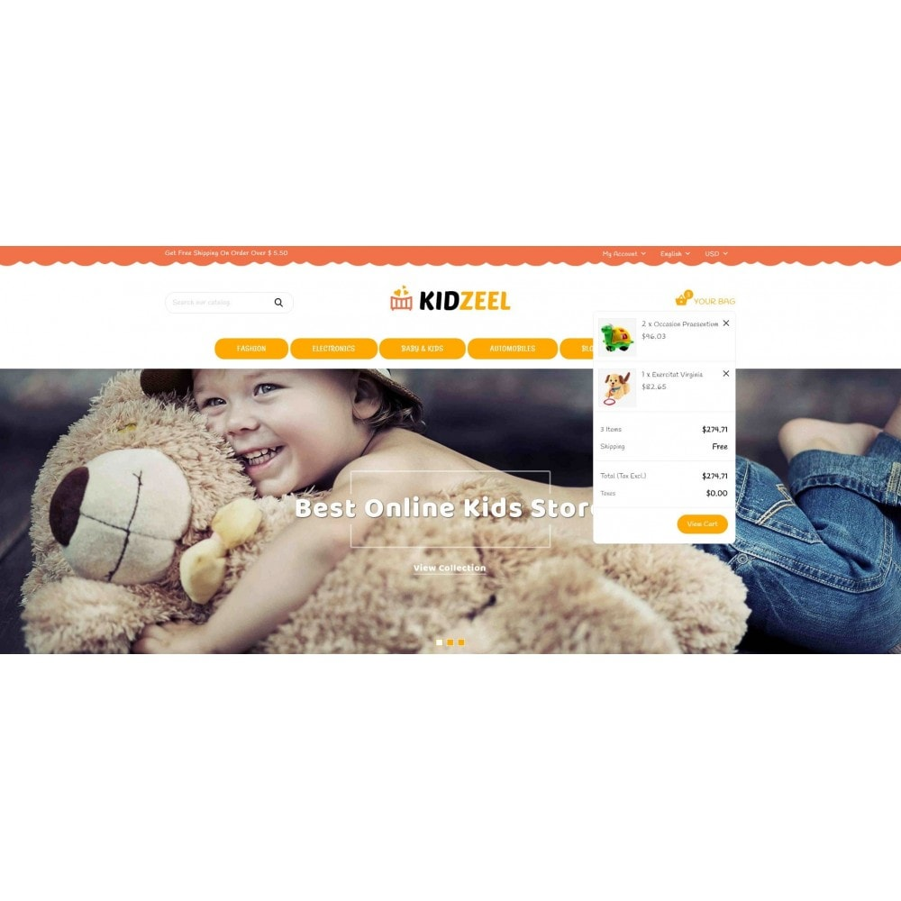 theme - Niños y Juguetes - KidZeel - Toys Store - 8
