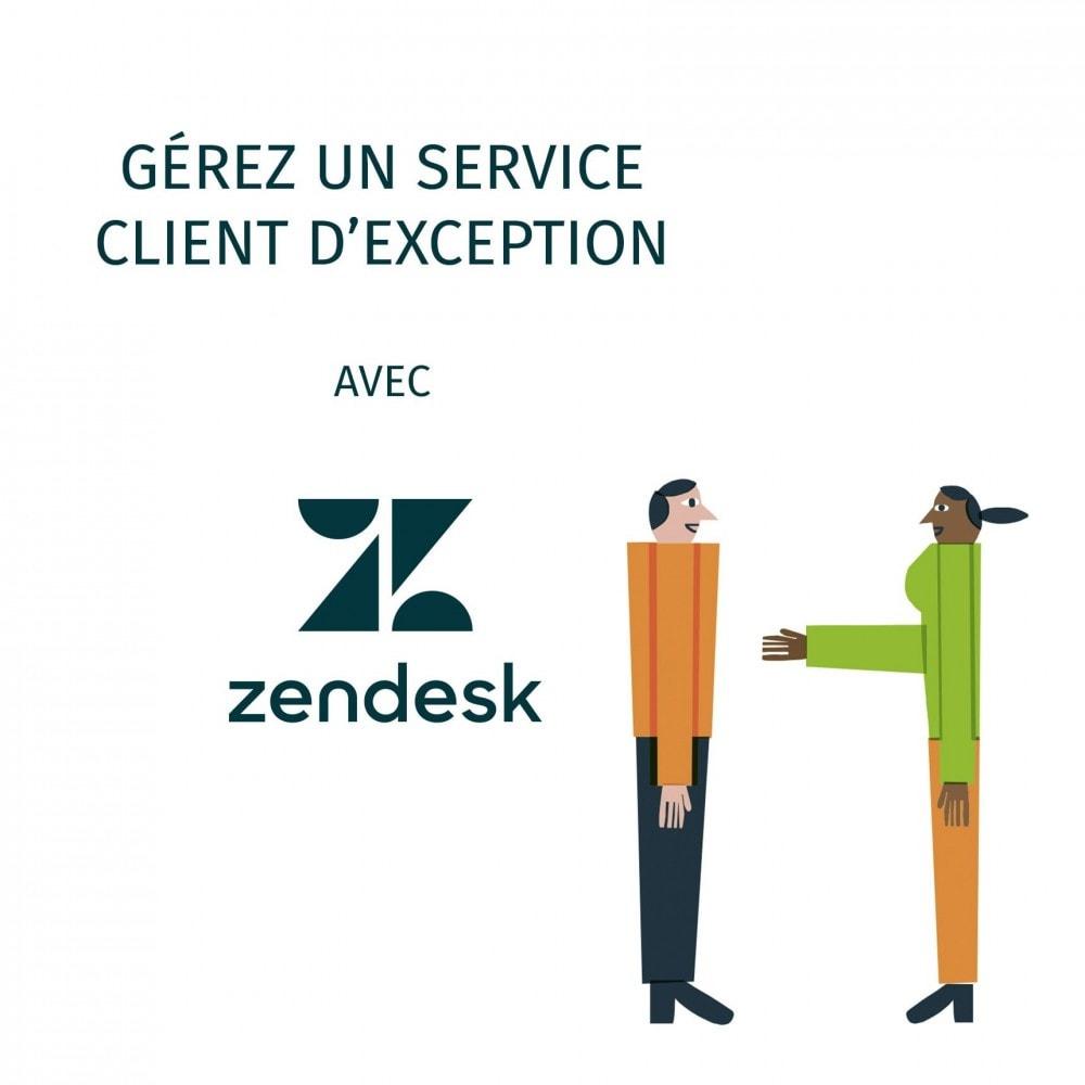 module - Service Client - Zendesk Officiel - 1