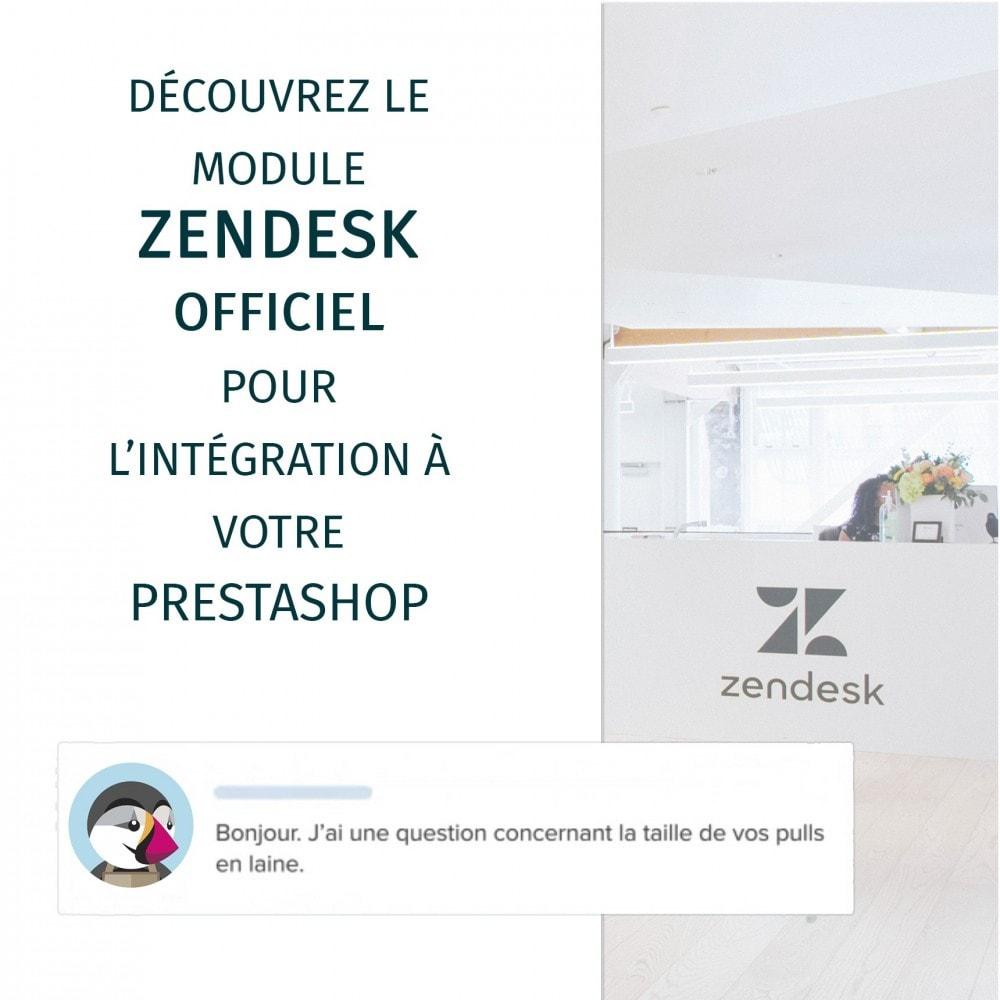 module - Service Client - Zendesk Officiel - 2