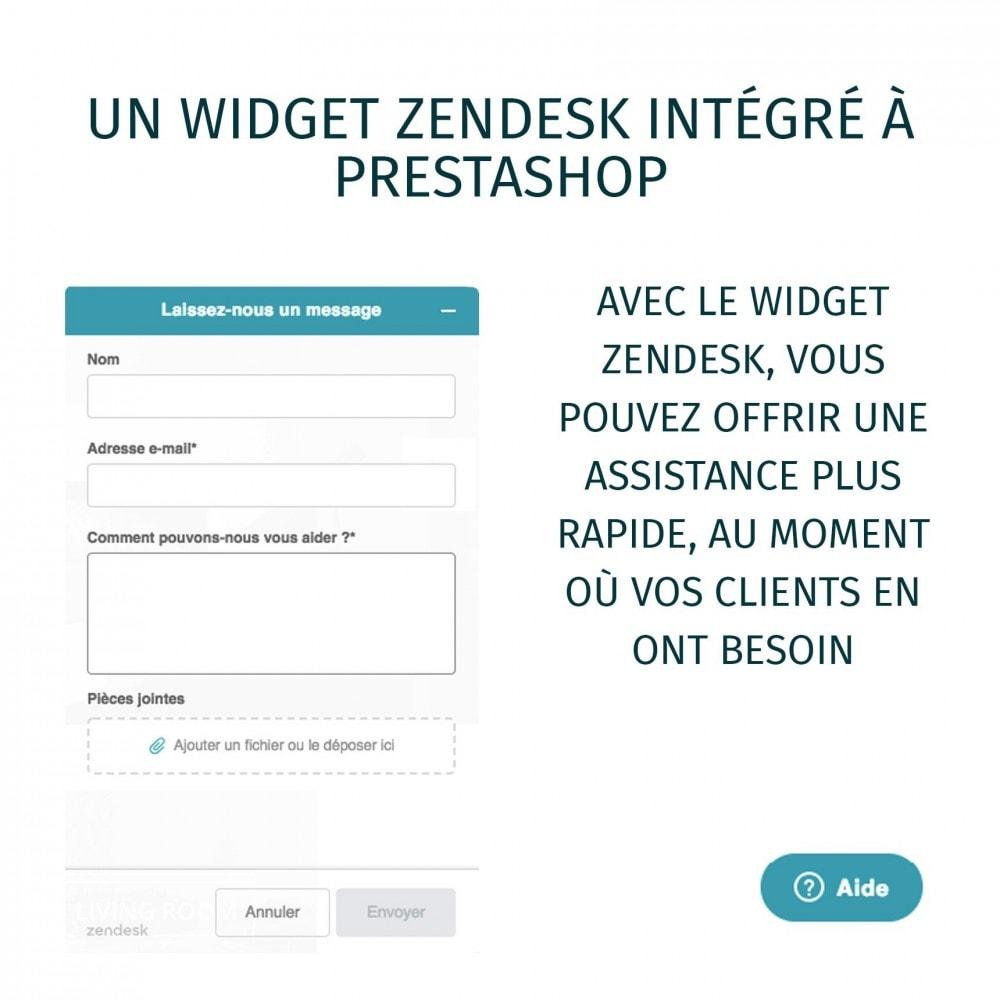module - Service Client - Zendesk Officiel - 5