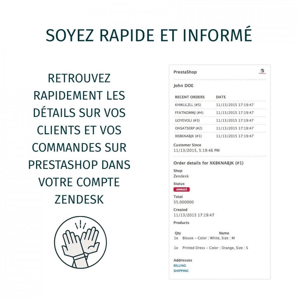 module - Service Client - Zendesk Officiel - 6