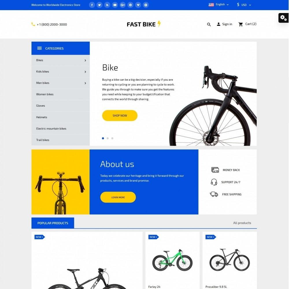 theme - Desporto, Actividades & Viagens - Fast Bike - 2