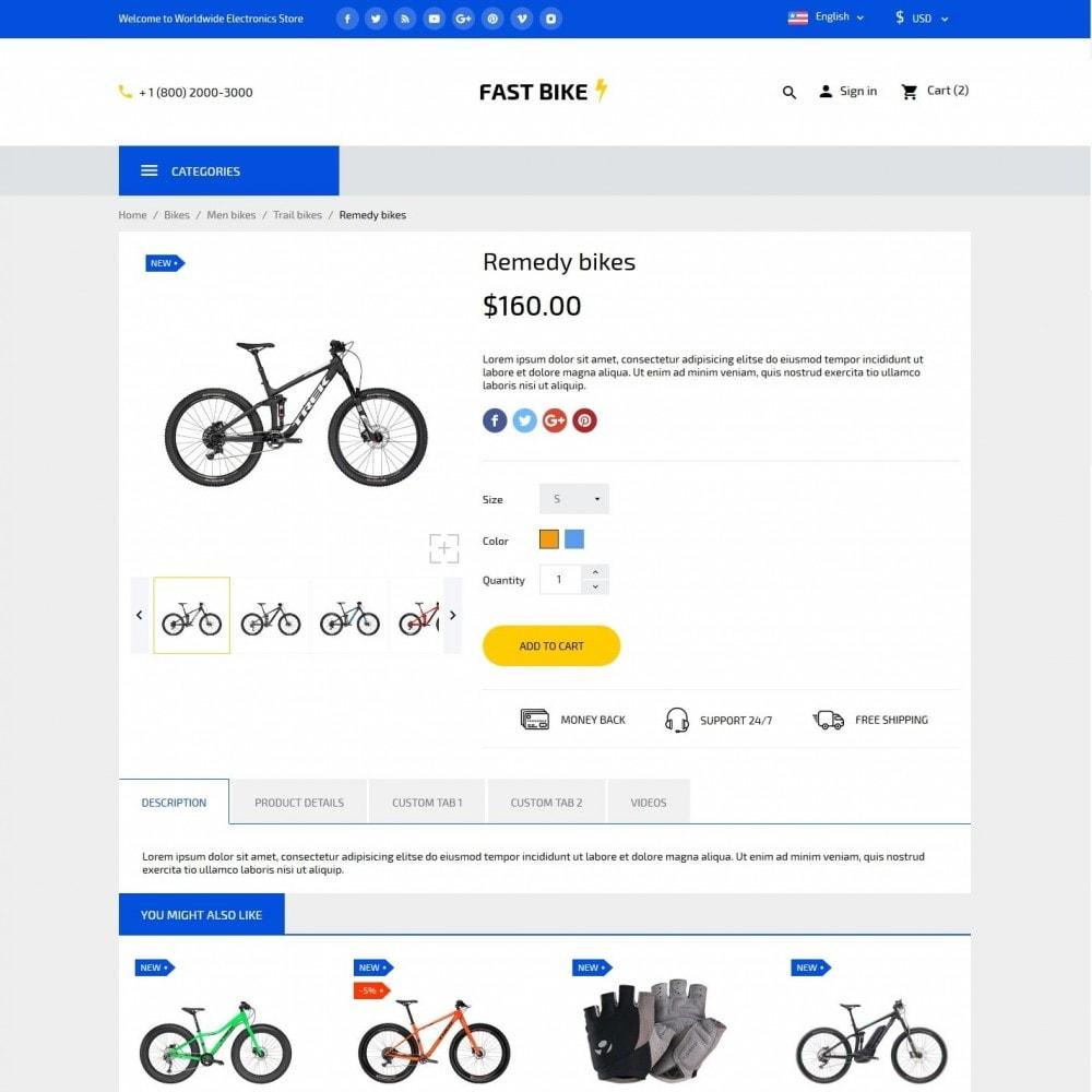 theme - Desporto, Actividades & Viagens - Fast Bike - 6