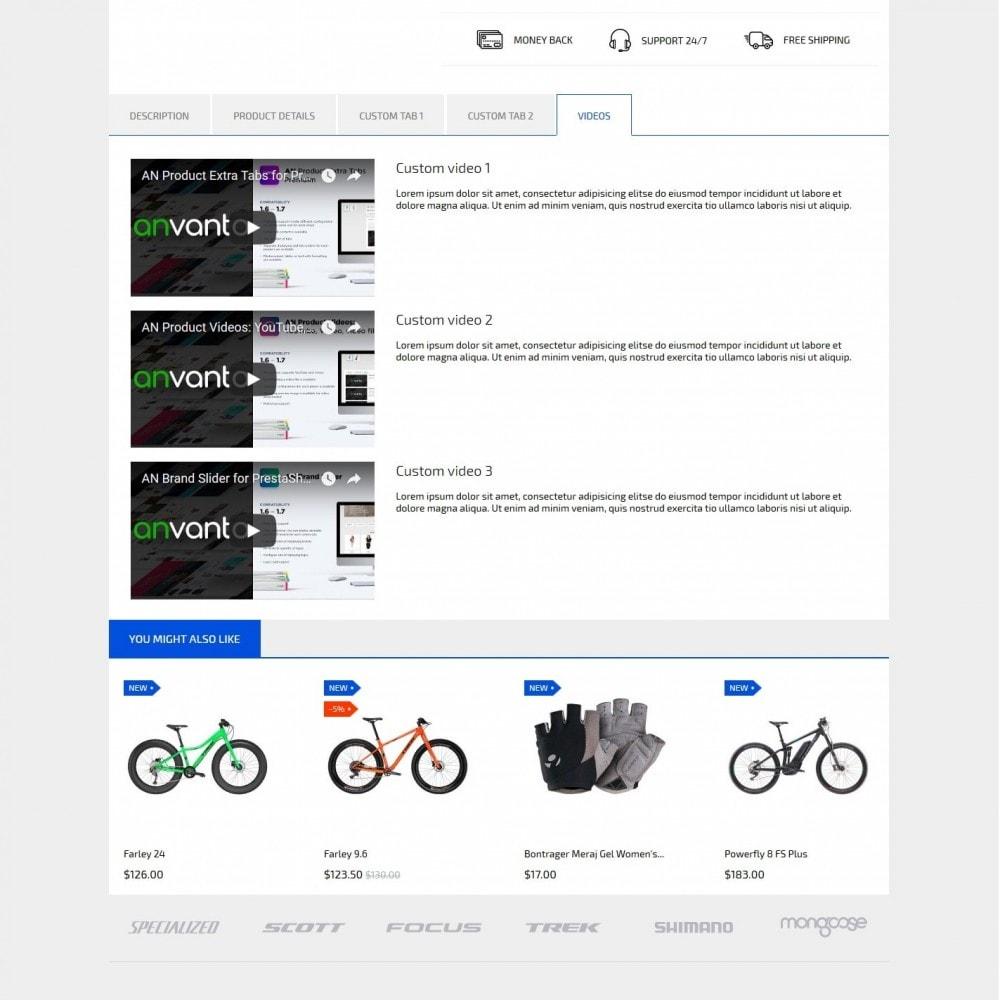 theme - Desporto, Actividades & Viagens - Fast Bike - 9