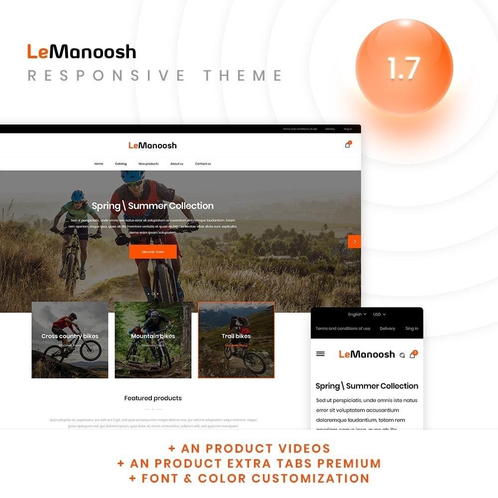 theme - Sports, Activities & Travel - LeManoosh - 1