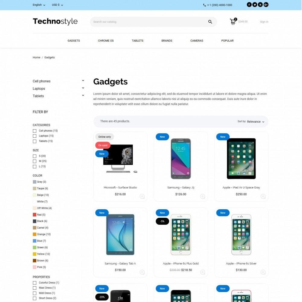 theme - Elektronik & High Tech - Technostyle - High-tech Shop - 5