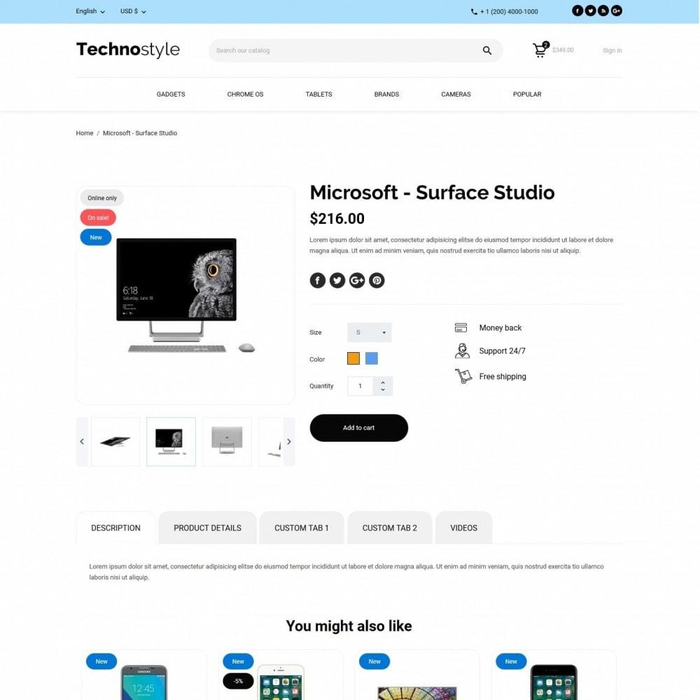 theme - Elektronik & High Tech - Technostyle - High-tech Shop - 6