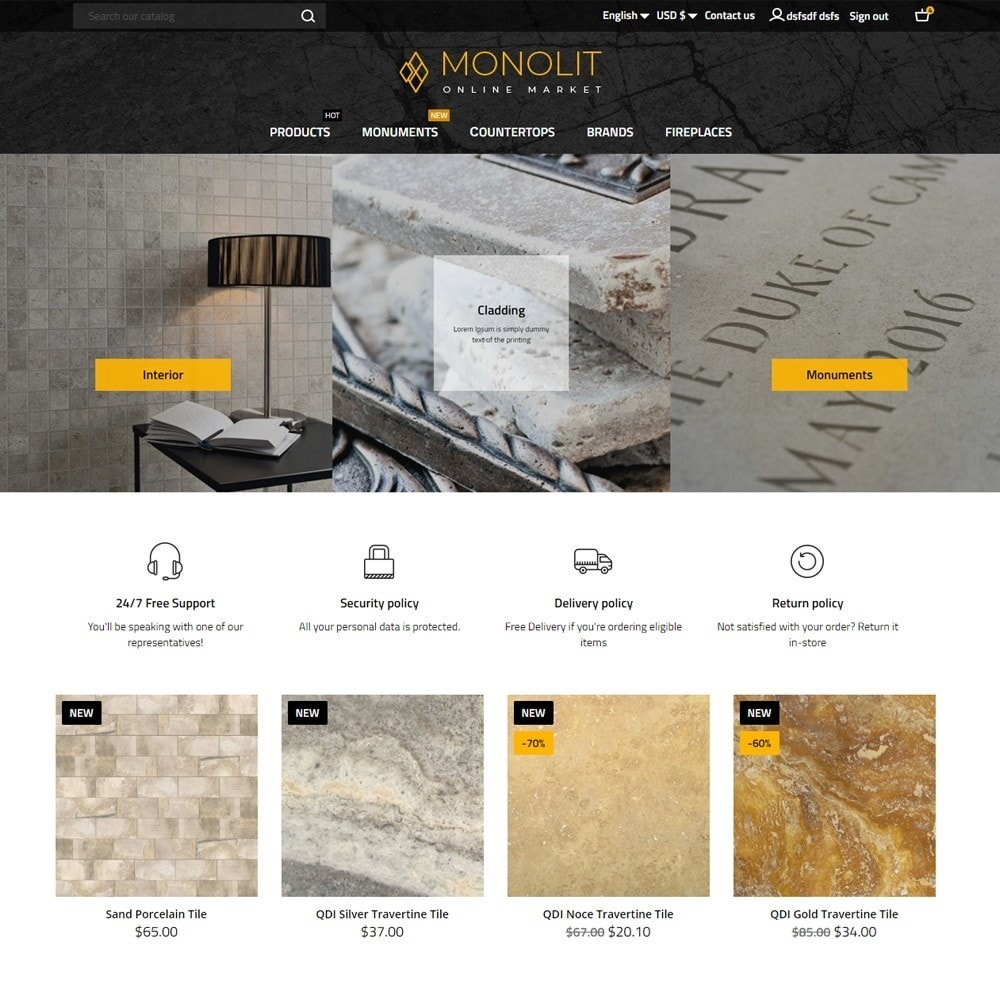 theme - Arte e Cultura - Monolit - 2