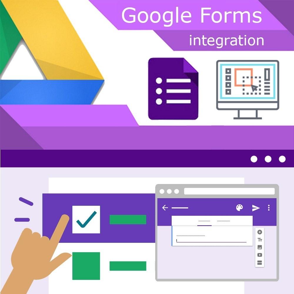 module - Formulário de contato & Pesquisas - Google Forms Integration - 1