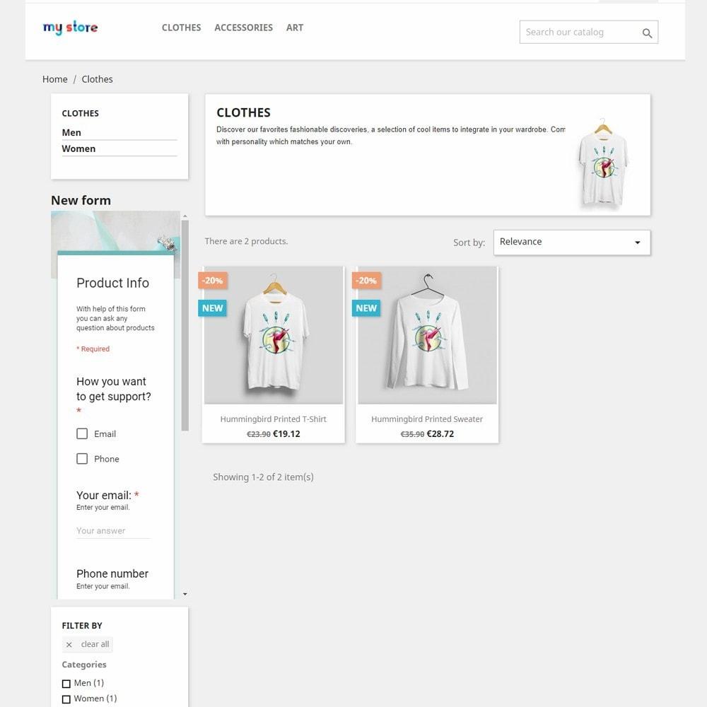 module - Formulário de contato & Pesquisas - Google Forms Integration - 3