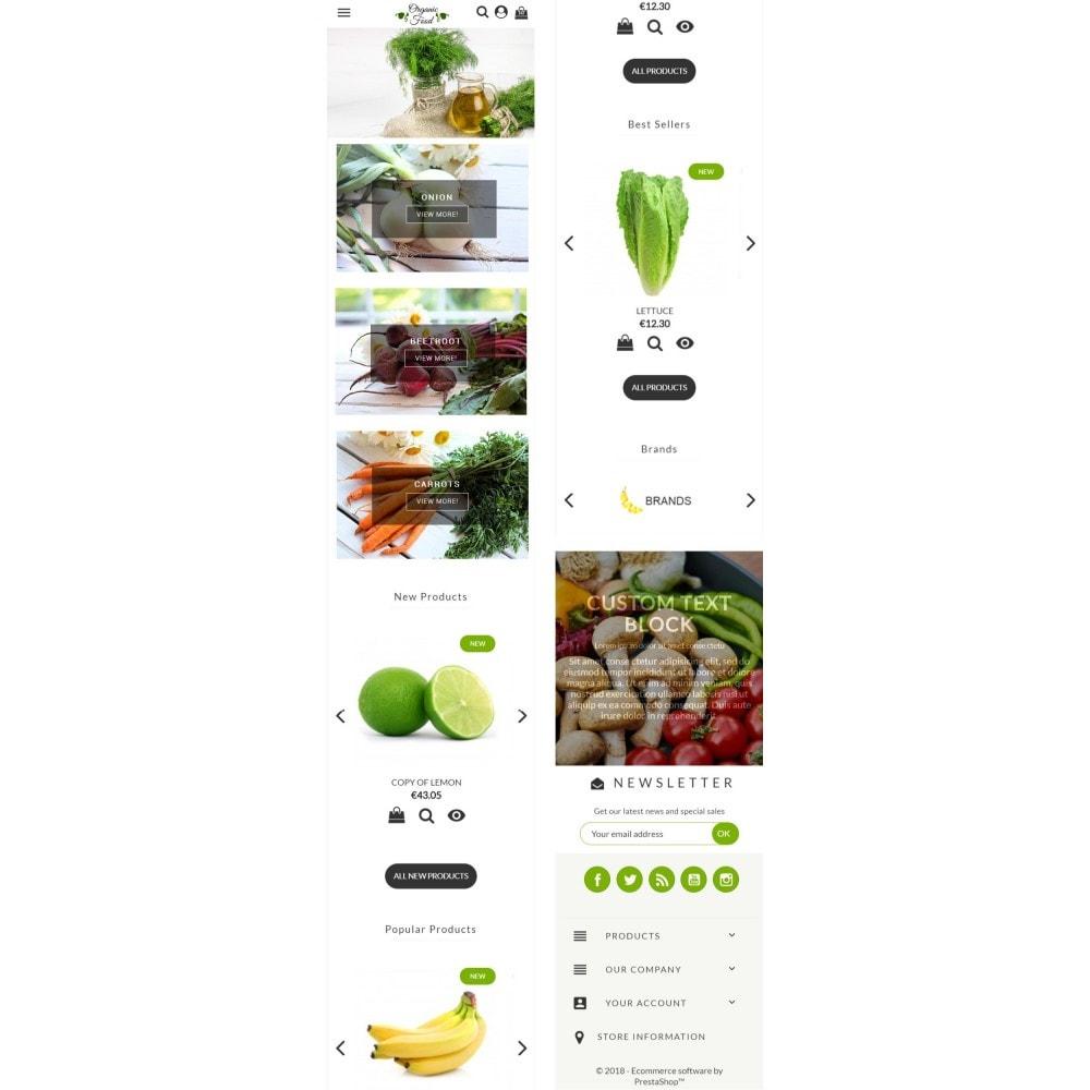 theme - Alimentation & Restauration - Organic Food - 5