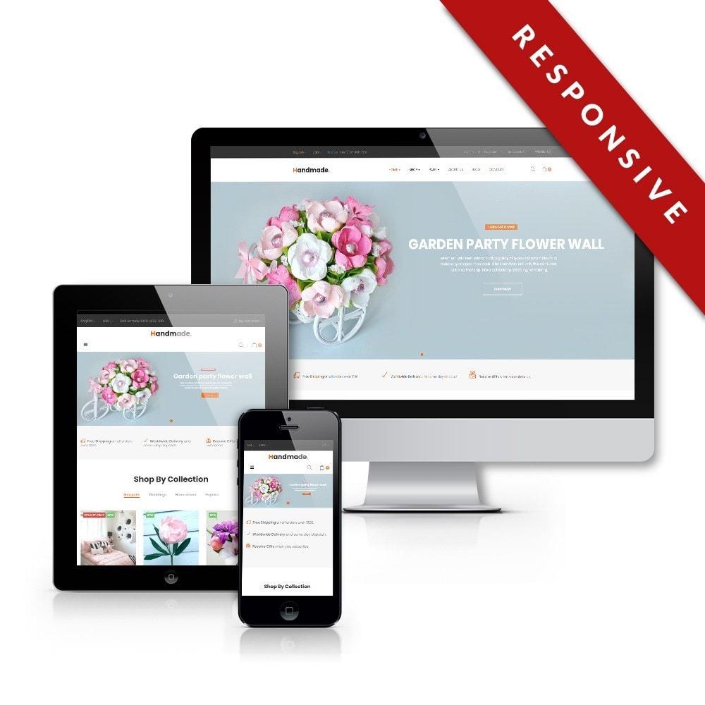 theme - Presentes, Flores & Comemorações - Handmade Flower Store - 1