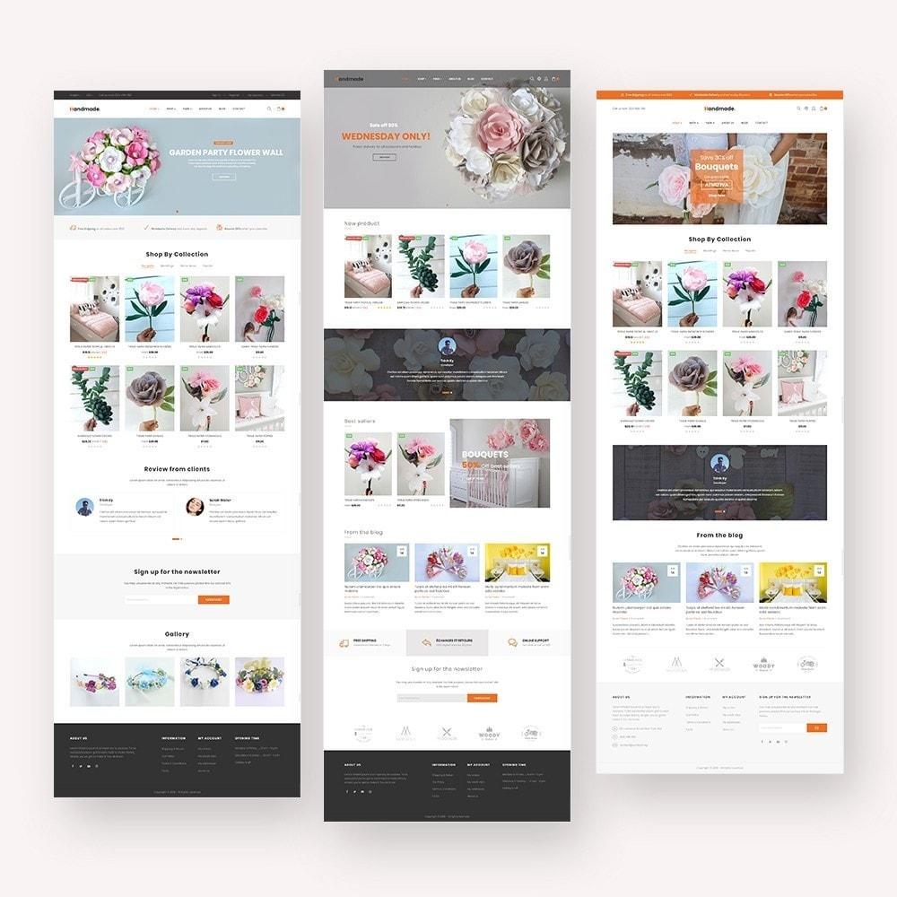 theme - Presentes, Flores & Comemorações - Handmade Flower Store - 2