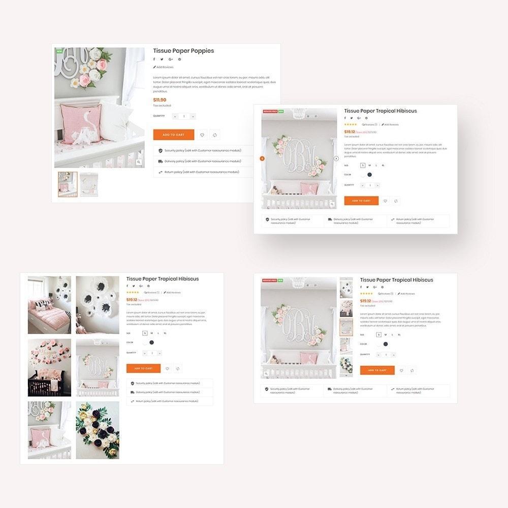 theme - Presentes, Flores & Comemorações - Handmade Flower Store - 3