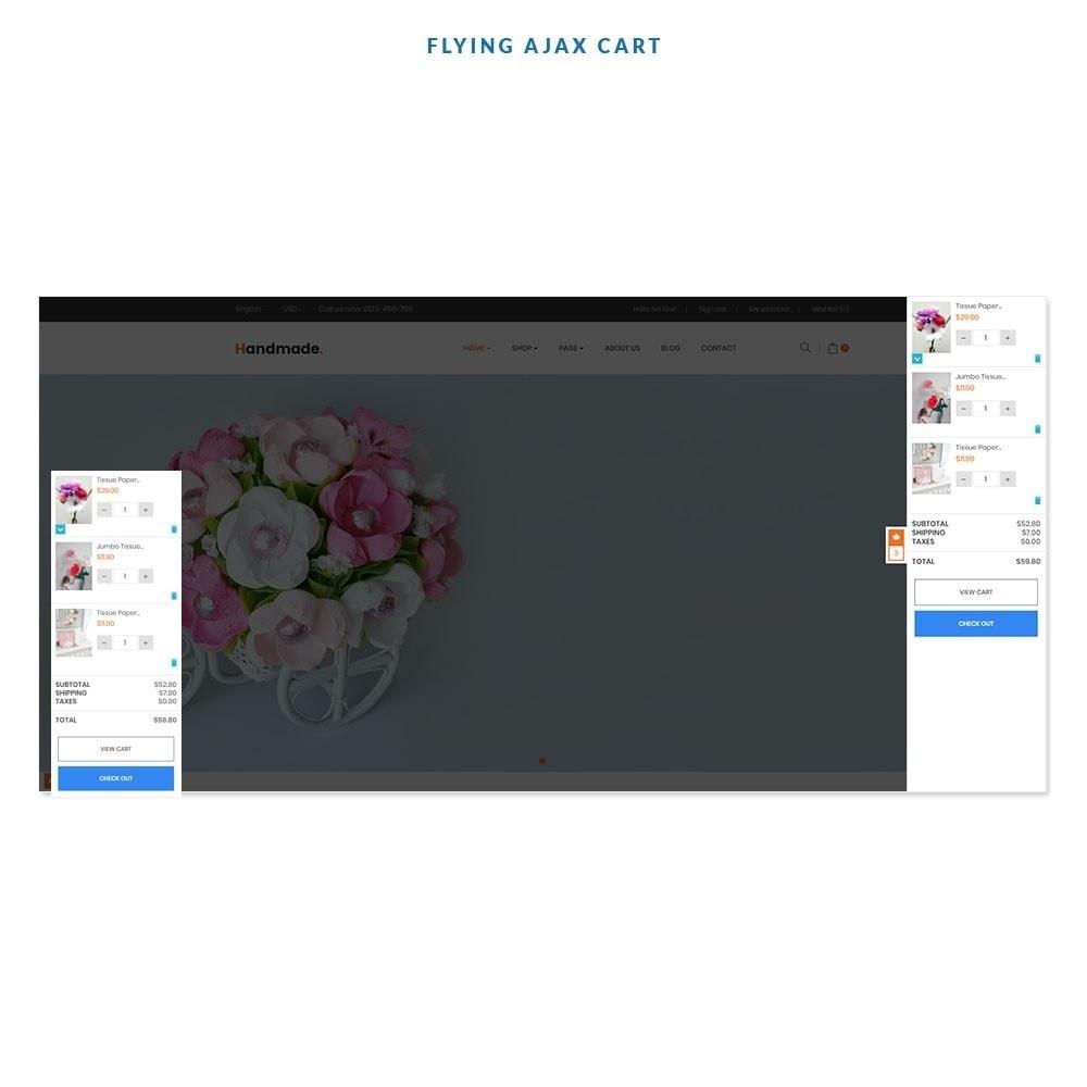 theme - Presentes, Flores & Comemorações - Handmade Flower Store - 4