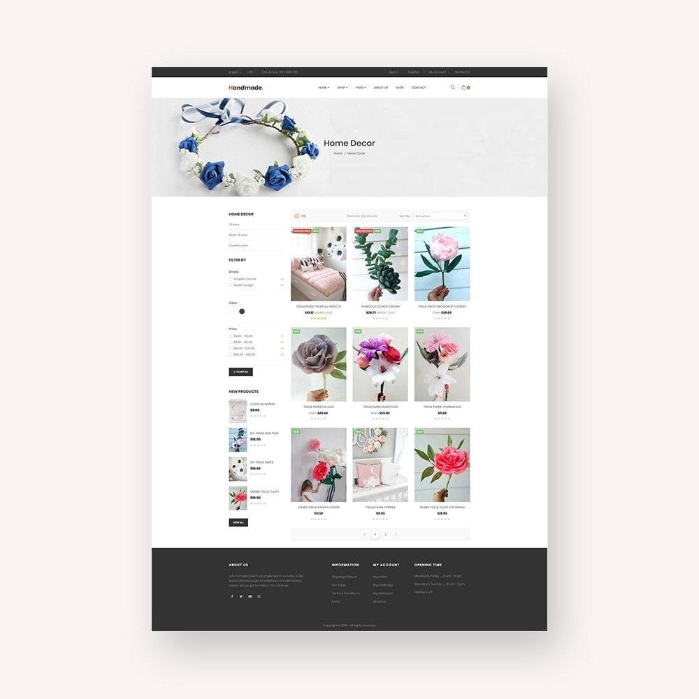 theme - Presentes, Flores & Comemorações - Handmade Flower Store - 5