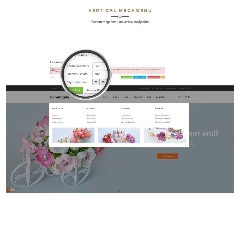 theme - Presentes, Flores & Comemorações - Handmade Flower Store - 9