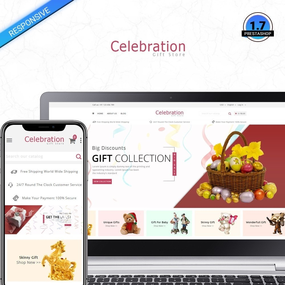 theme - Gifts, Flowers & Celebrations - Celebrations - 1