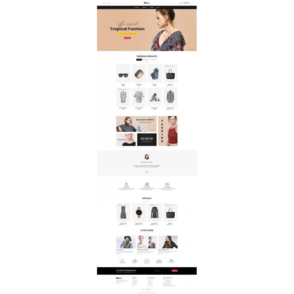 theme - Moda y Calzado - Bella Fashion Apparels - 2