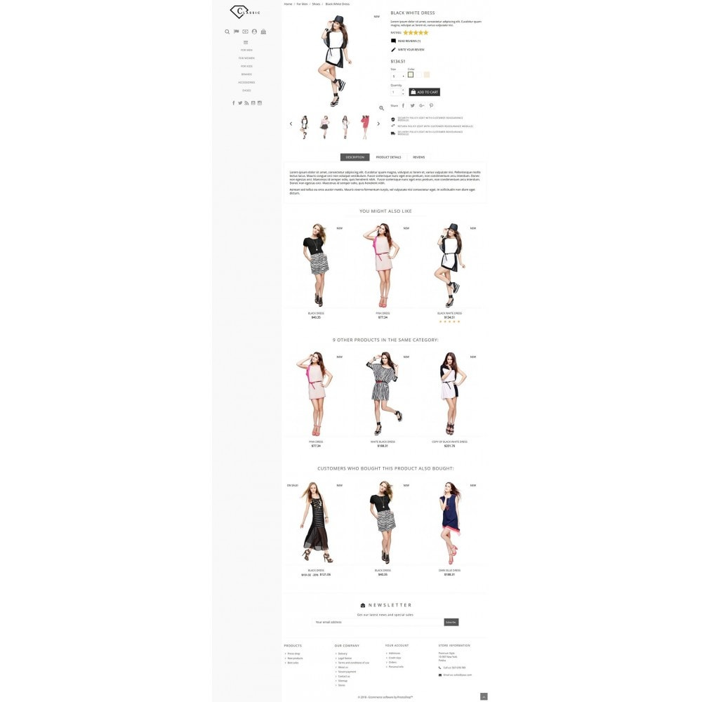 theme - Moda & Calzature - Classic Fashion - 3