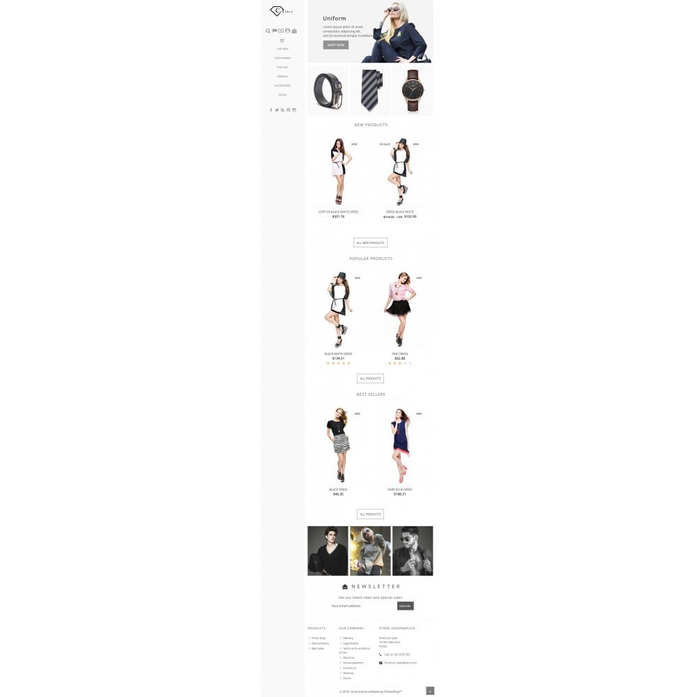 theme - Moda & Calzature - Classic Fashion - 4