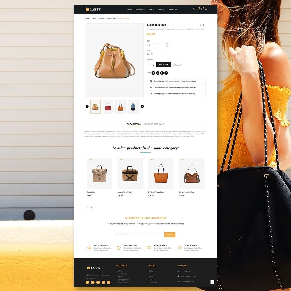 theme - Jewelry & Accessories - Bag Parallax Store - 5