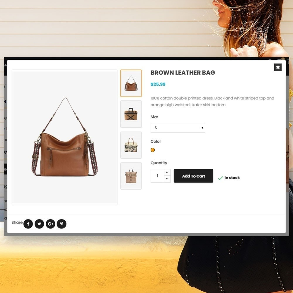 theme - Biżuteria & Akcesoria - Torba Parallax Store - 7