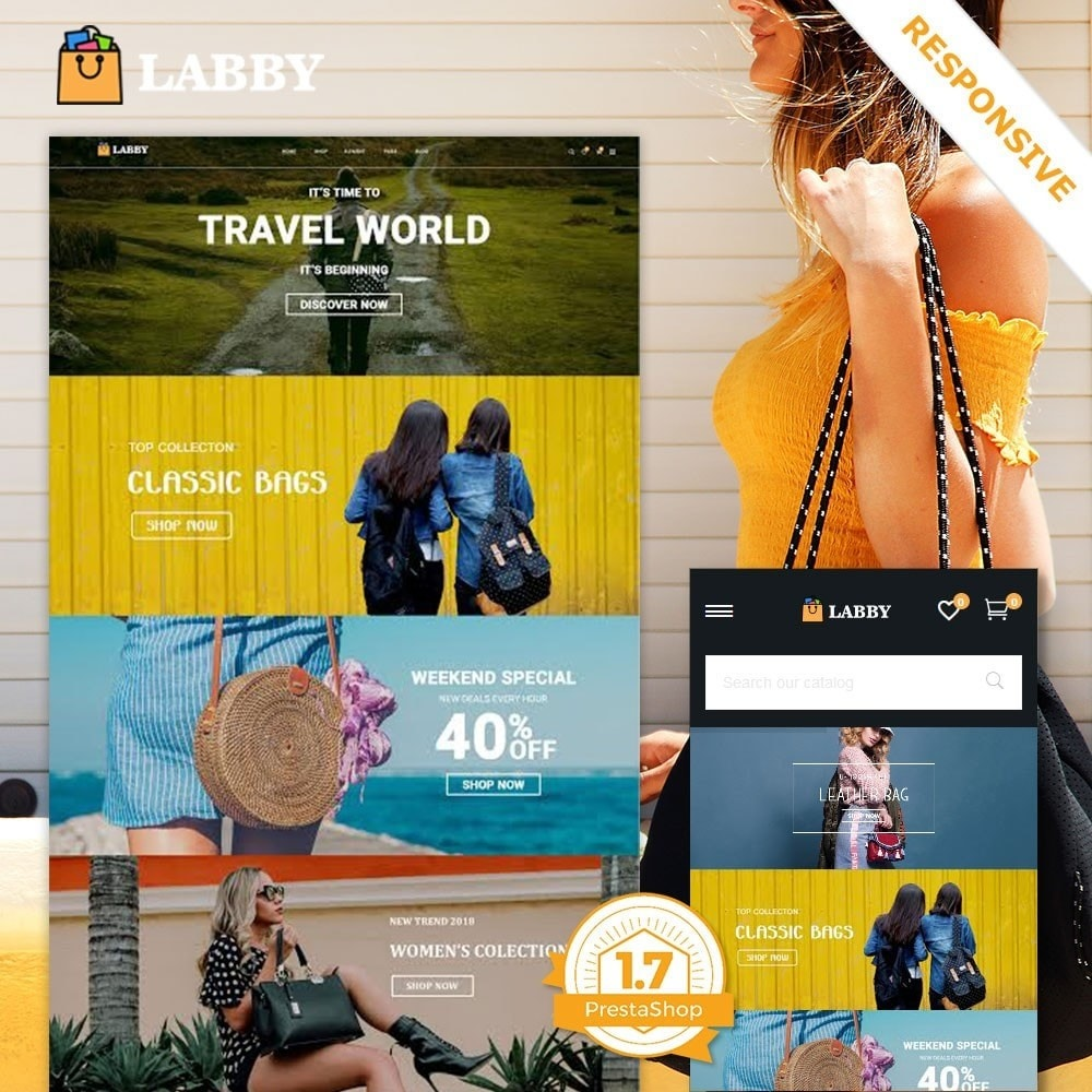 theme - Ювелирные изделия и Аксессуары - Сумка Parallax Store - 2