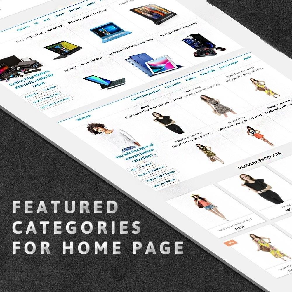 module - Personalização de página - MAX Category Navigation (AliExpress) - 2