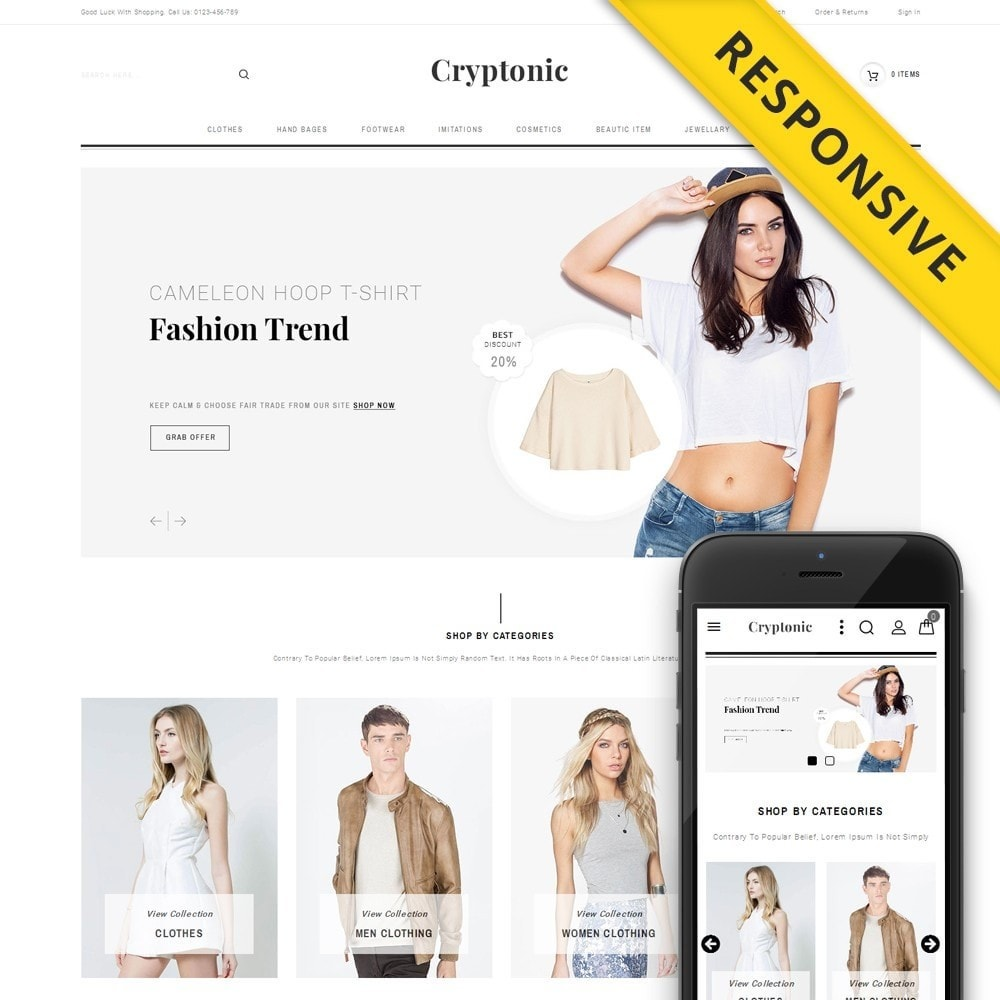 theme - Moda y Calzado - Cryptonic Accessories Store - 1
