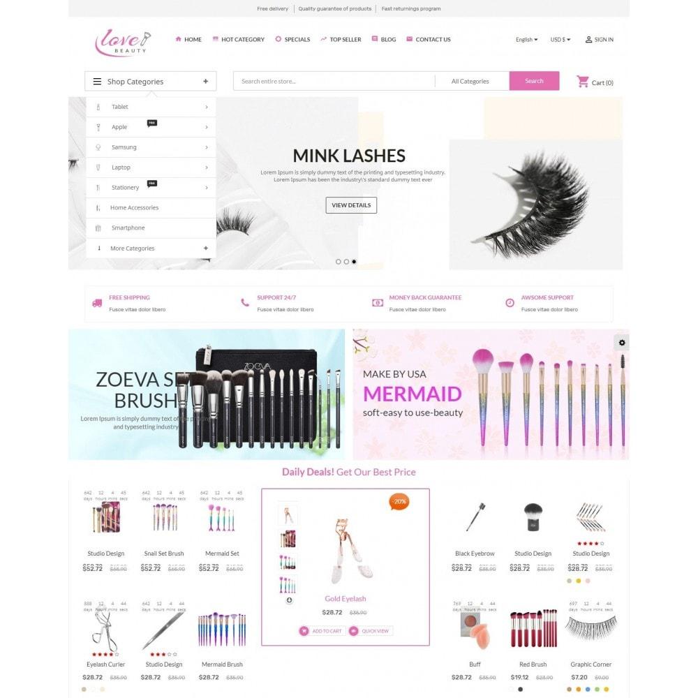 theme - Saúde & Beleza - Beauty Love Maquillage - 2