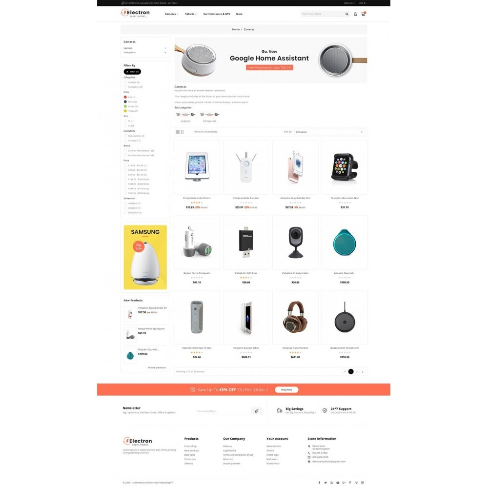 theme - Electronique & High Tech - Electron - Digital Store - 3