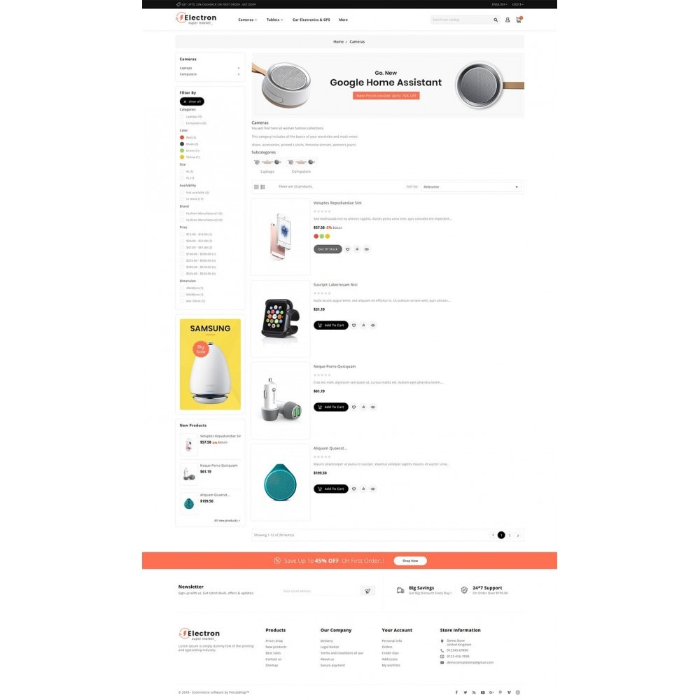 theme - Electronique & High Tech - Electron - Digital Store - 4