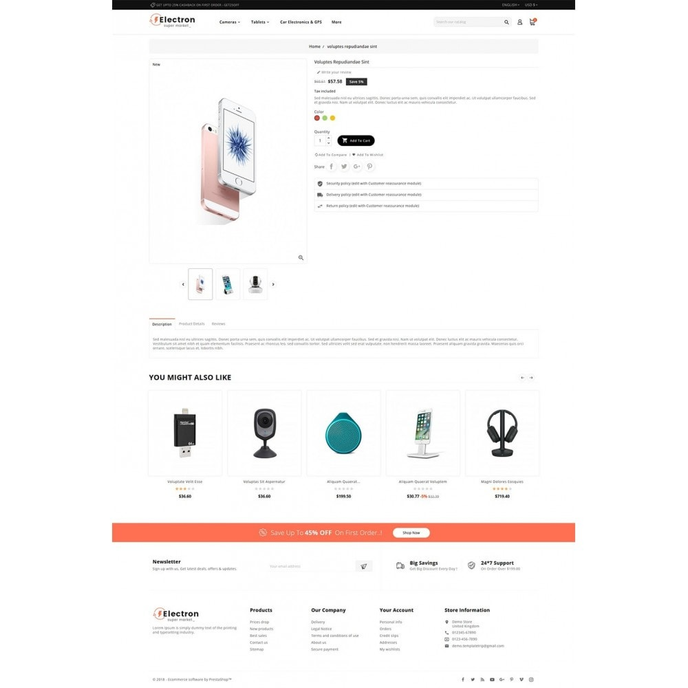theme - Electronique & High Tech - Electron - Digital Store - 5