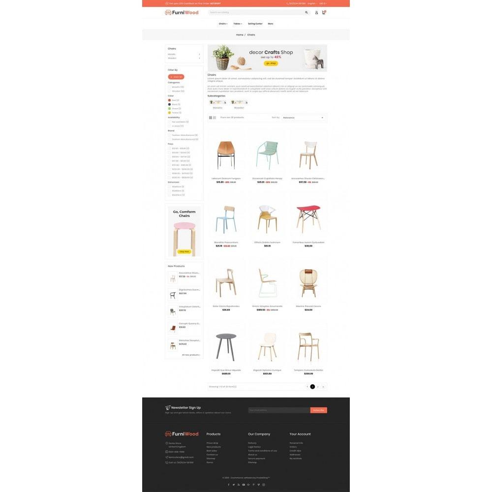 theme - Casa & Jardins - FurniWood - Sofa & Chairs - 3