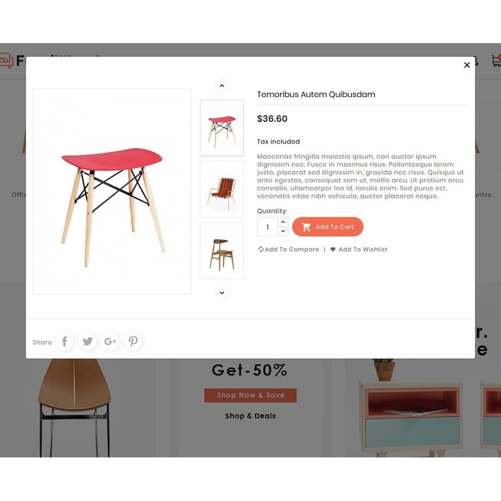 theme - Dom & Ogród - FurniWood - Sofa & Chairs - 7