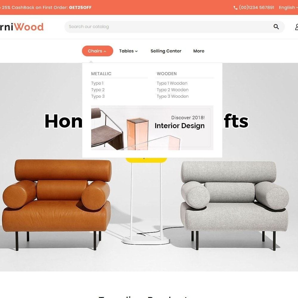theme - Maison & Jardin - FurniWood - Sofa & Chairs - 8