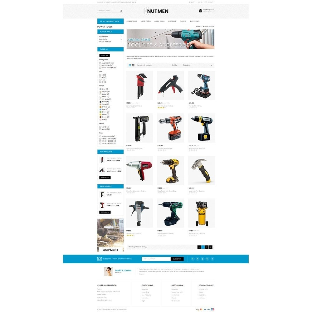 theme - Automotive & Cars - Nutmen Tools Store - 3