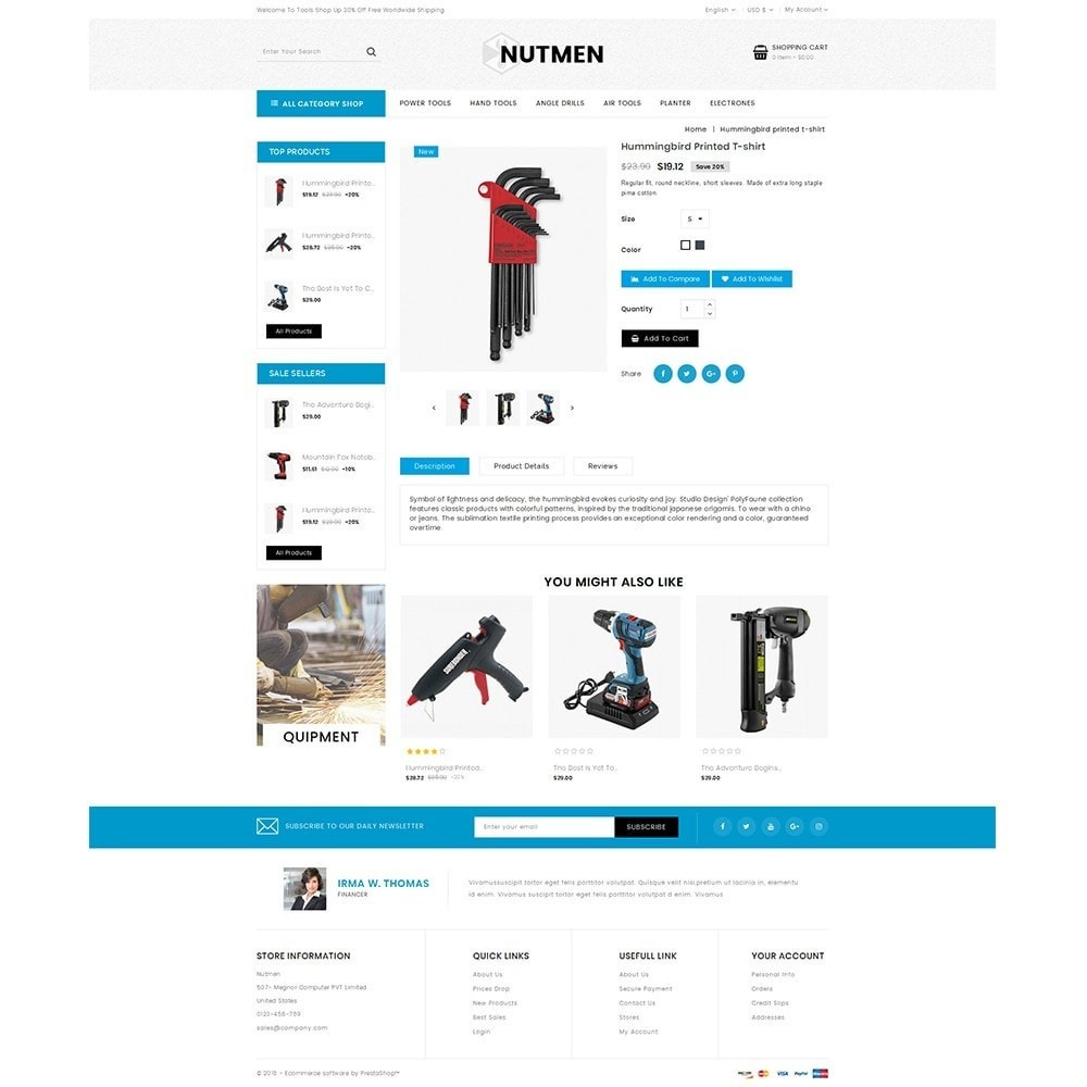 theme - Automotive & Cars - Nutmen Tools Store - 5