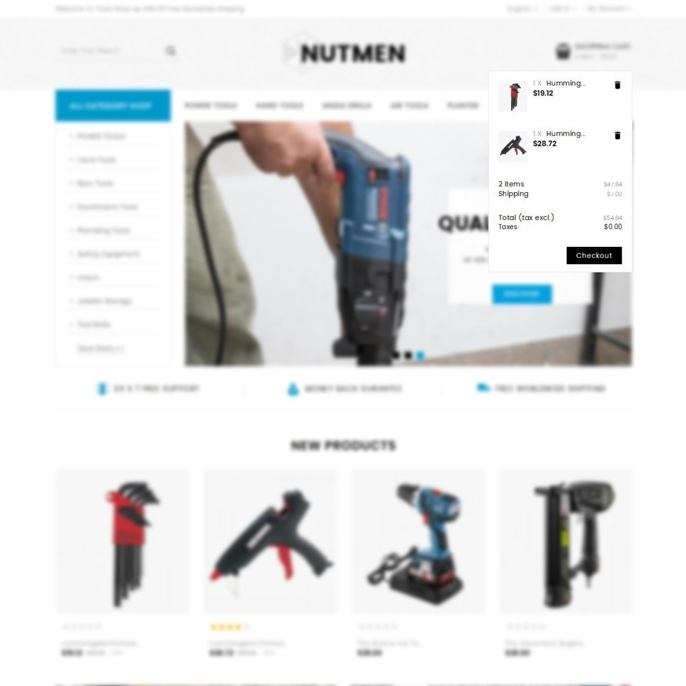 theme - Automotive & Cars - Nutmen Tools Store - 8