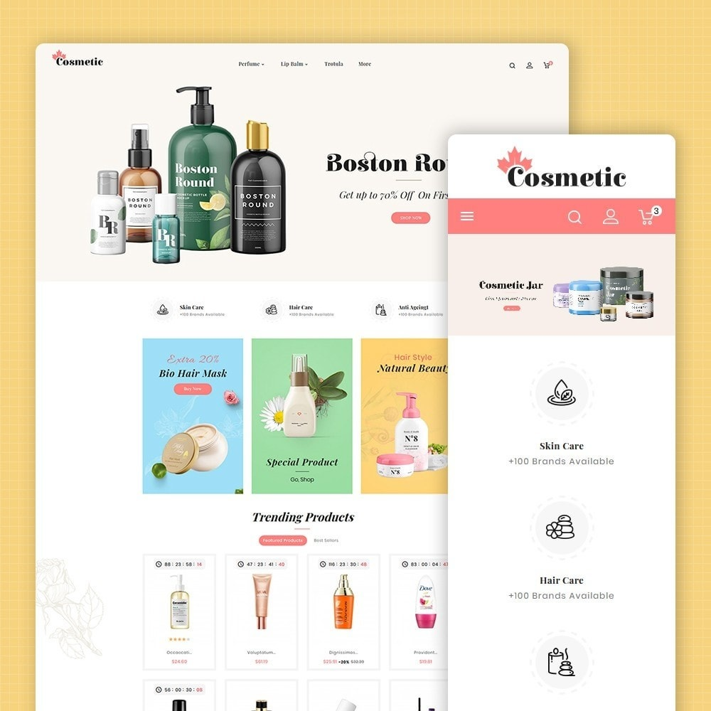 theme - Health & Beauty - Beauty Cosmetics - 1