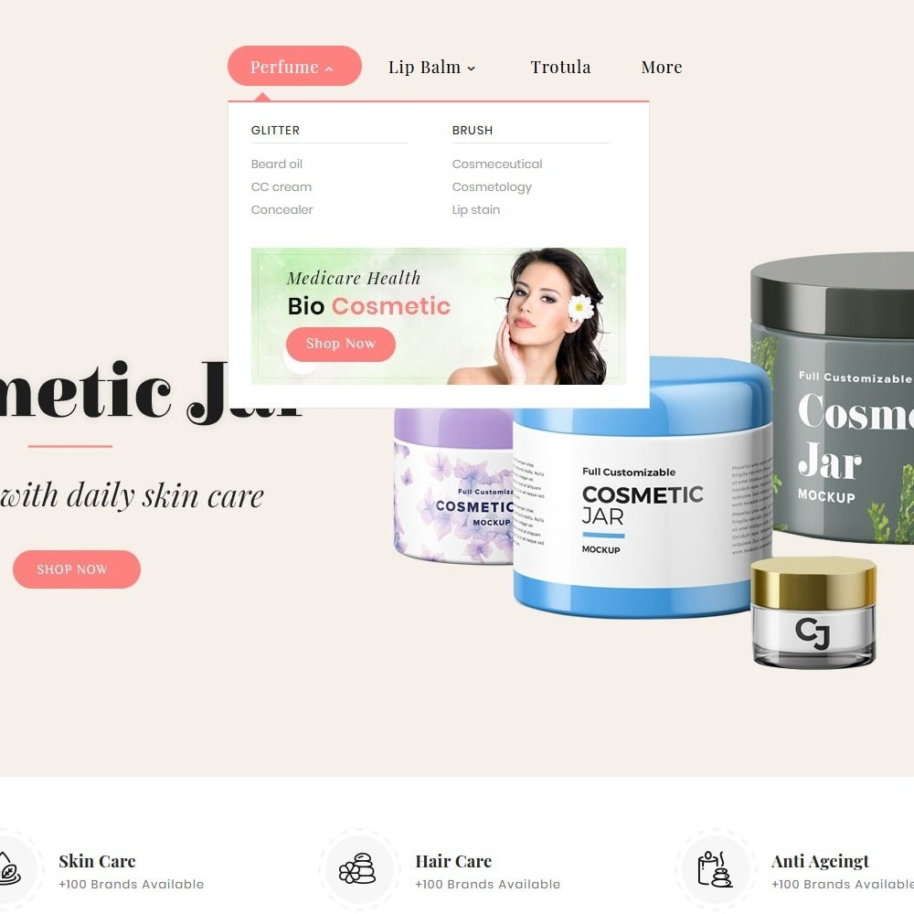 theme - Health & Beauty - Beauty Cosmetics - 7