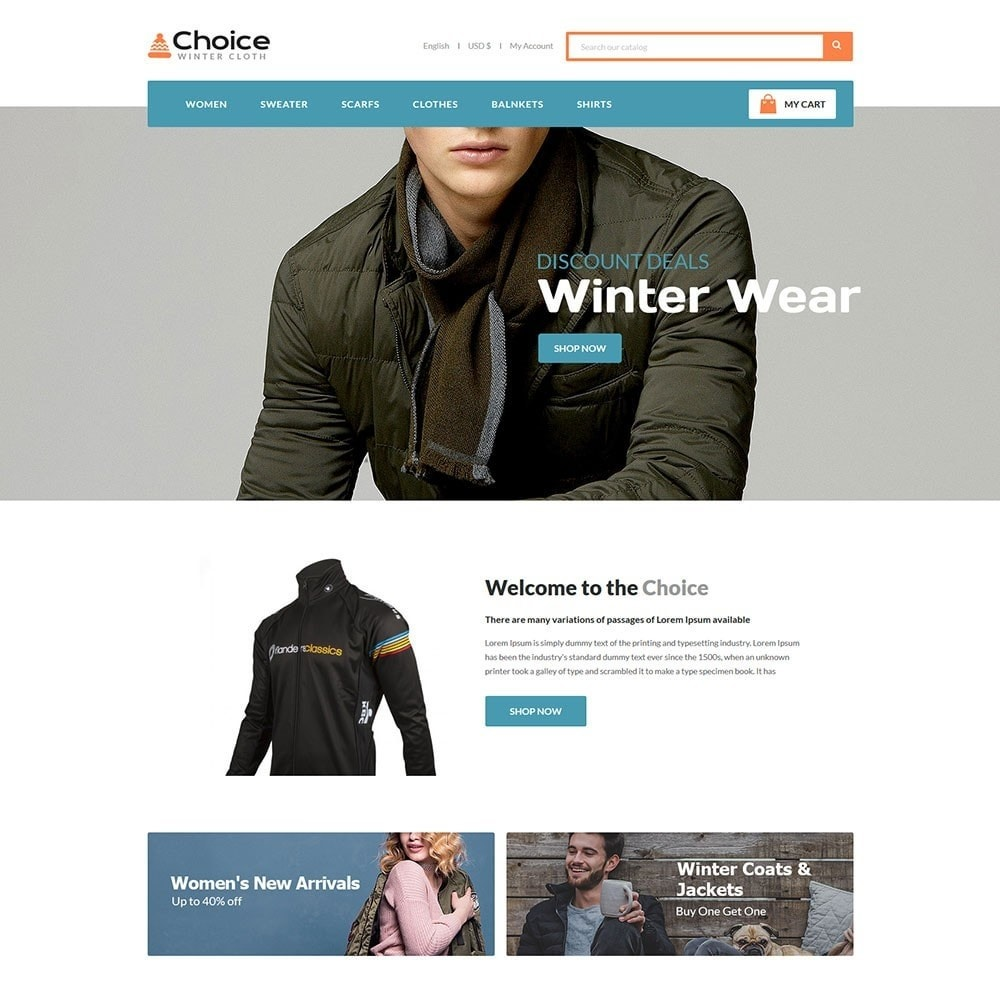 theme - Moda & Obuwie - Choice Fashion Store - 2